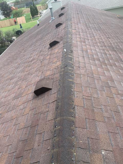Sandwich, IL - tear off      CertainTeed shingles      roof repairs     laminated shingles    roof   aluminum gutter  lifetime shingles    50 year shingles