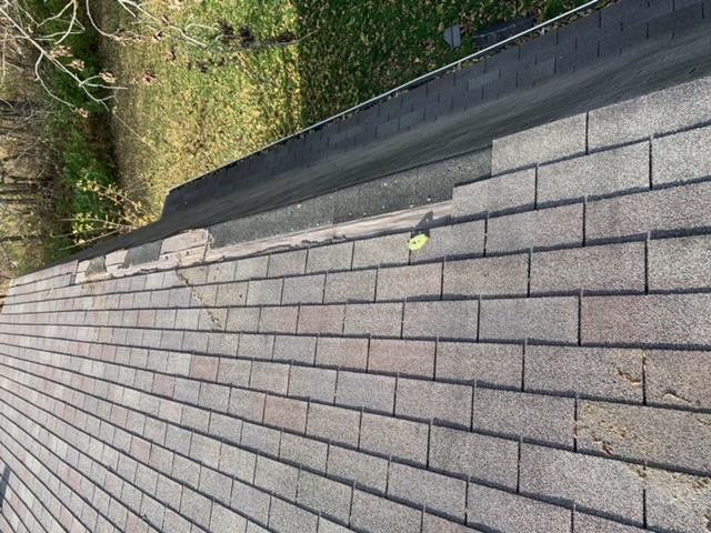 Yorkville, IL - missing shingles  wind damage  storm damage  insurance claim  roof repair  shingle roof repair