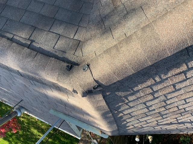 Sandwich, IL - missing shingles  wind damage  storm damage  insurance claim  roof repair  shingle roof repair