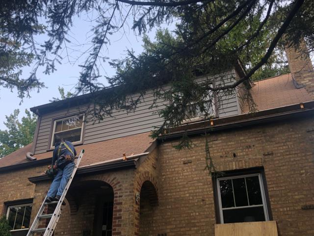 Downers Grove, IL - 50 year shingles architectural laminated shingles      lifetime shingles     Certain Teed shingles      tear off existing shingles   roof repair    roof shingles