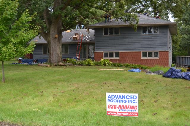 Oswego, IL - 50 year shingles   laminated shingles   lifetime shingles    tear-off       roofers near me  Certain Teed      insurance    storm damage    roofing     shingles    new roof   roofer