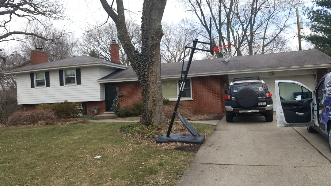 Yorkville, IL - I'm looking at the chimney on this house and a possible roof replacement but chimney replacing for sure.