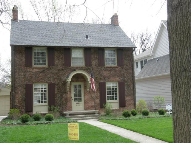 Aurora, IL - Complete roof replacement with copper gutters near downtown Naperville.