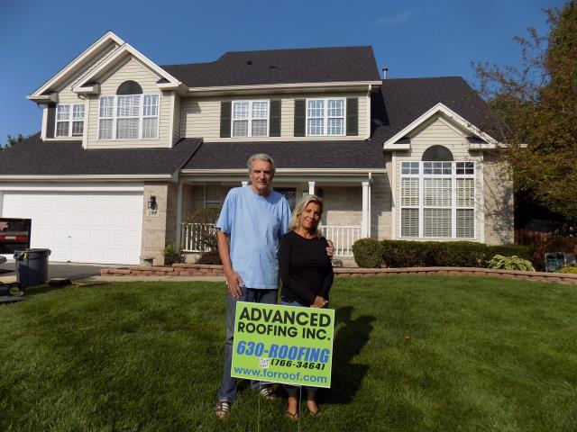 North Aurora, IL - It was a pleasure working with these great homeowners!