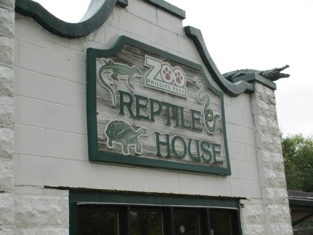 Aurora, IL - One of the most unique jobsites we've ever worked on re-roofing the Reptile House at the Phillips Park Zoo.