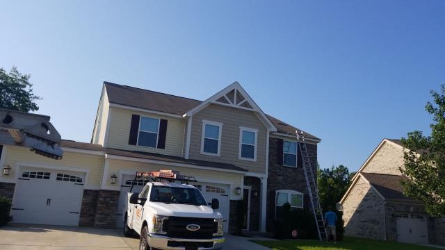 Irmo, SC - Had to replace missing shingles. Home repair on roof in Columbia south Carolina