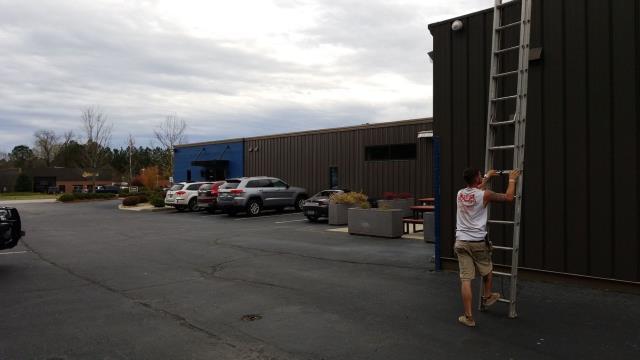 Irmo, SC - Flashing repair, solar panel repair, gutter repair.