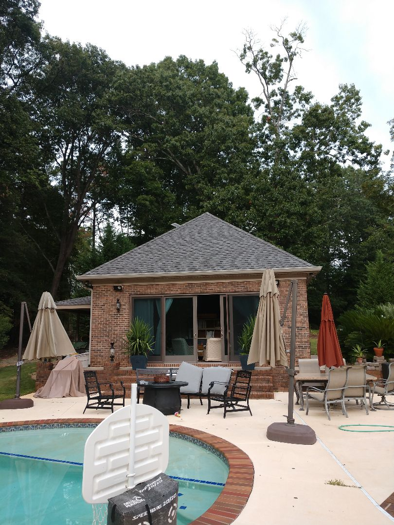Columbia, SC - Re-roof of pool Cabana