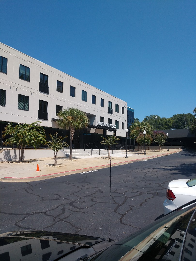 Columbia, SC - Commercial roof leak and inspection at Vista towers