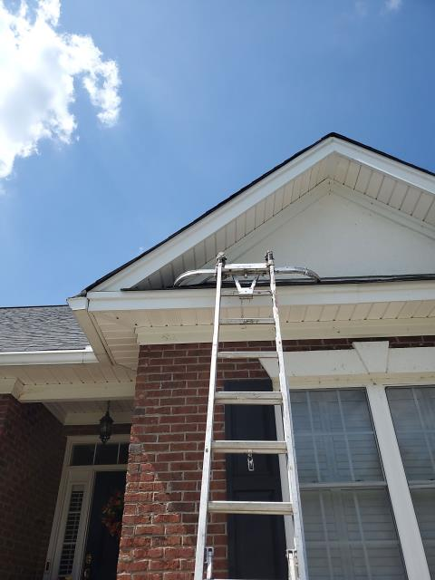 Chapin, SC - Fabricated and replaced her gutters