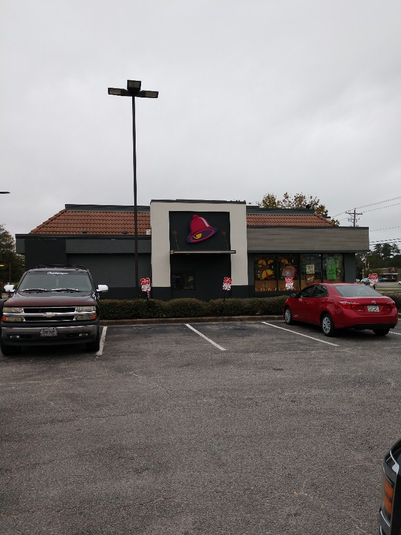 North Charleston, SC - Commercial roof leak taco Bell North Charleston