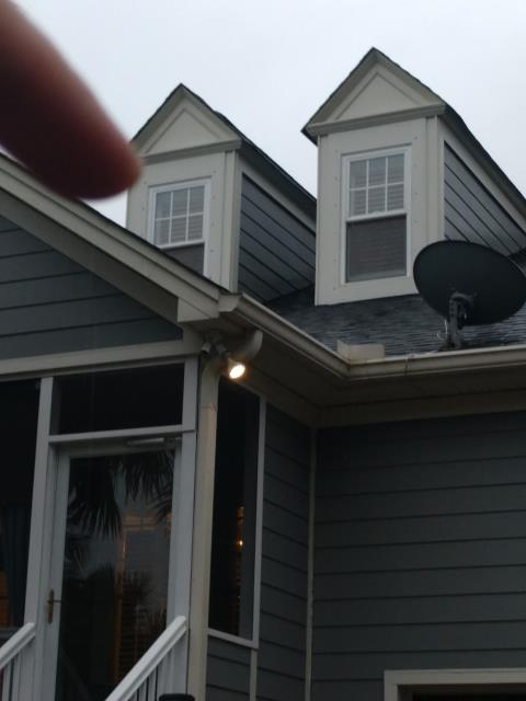 Mount Pleasant, SC - Owner reported a roof leak above a kitchen window