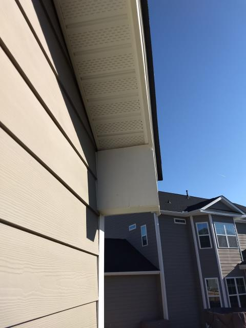 Lexington, SC - Customers want to wrap fascia and soffit in aluminum around their home