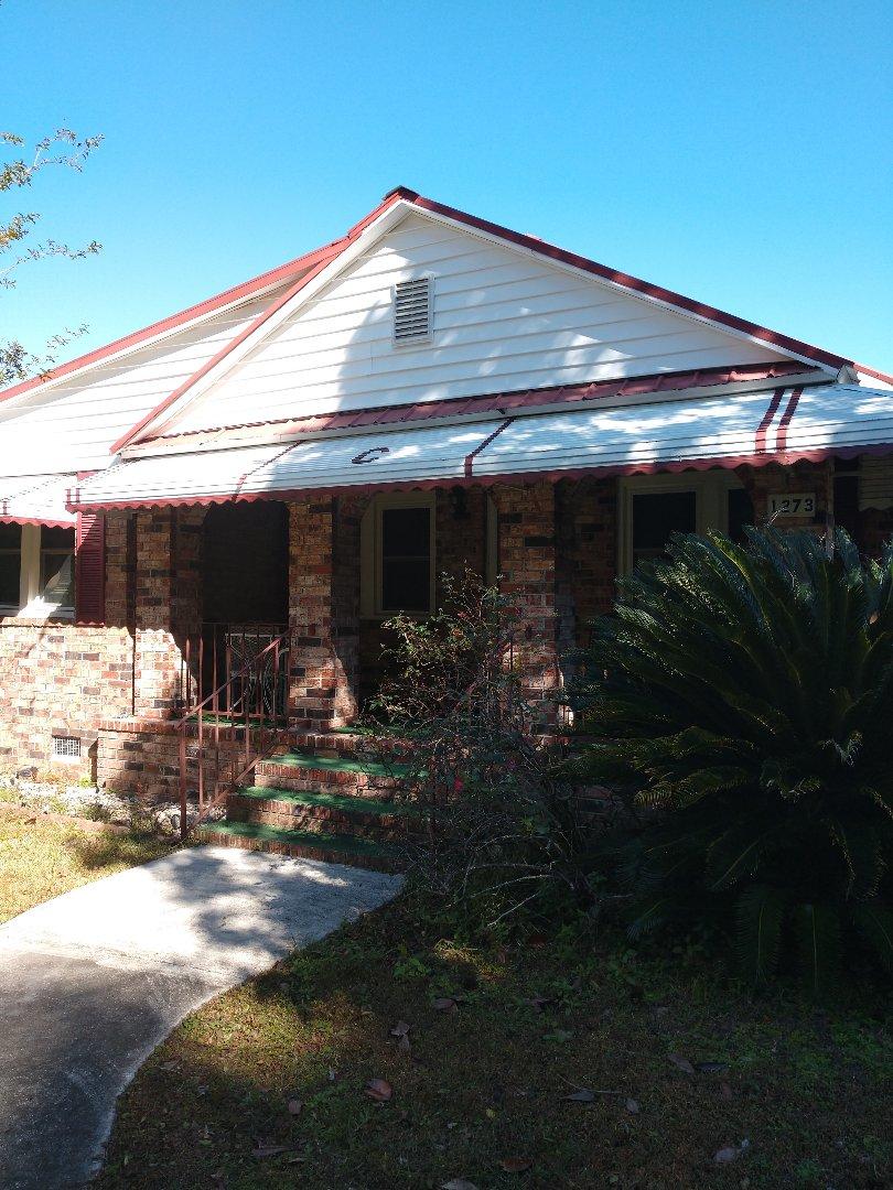 Johns Island, SC - Metal roof repair on residential Johns island