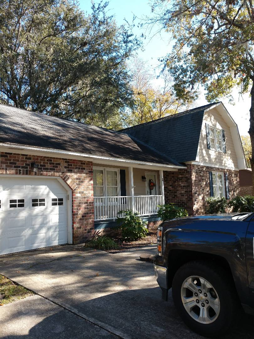 Charleston, SC - Woodwork repair on fascia and soffit