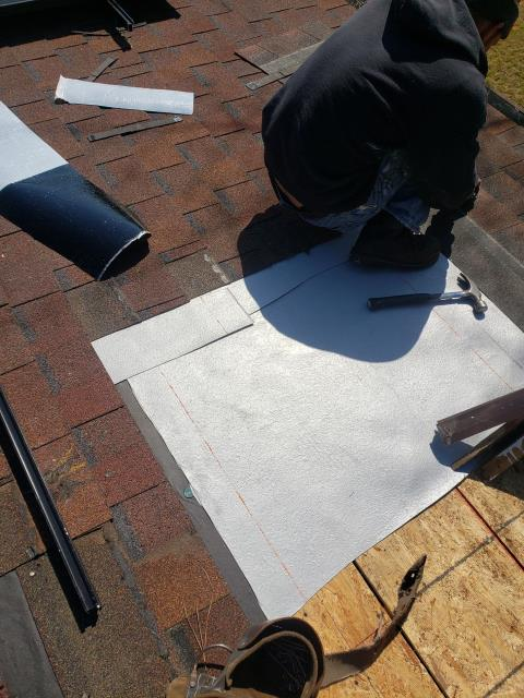 Chapin, SC - Remove and replace 6 pipe boots and repair a 8 foot by 8 foot valley