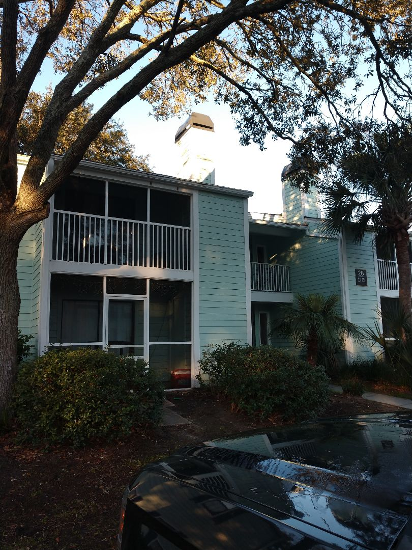 Mount Pleasant, SC - Roof leak repair condo complex Mount pleasant South Carolina