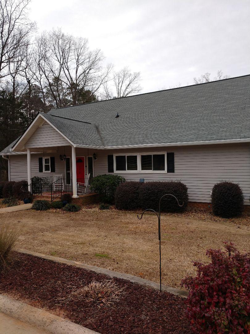 Roof repair on Peak Lexington South Carolina