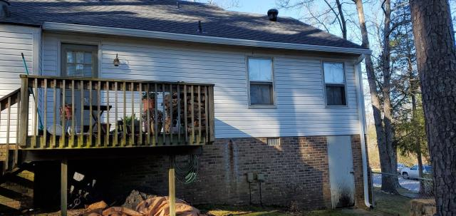 seamless gutters, gutter guard, and new roof installation
