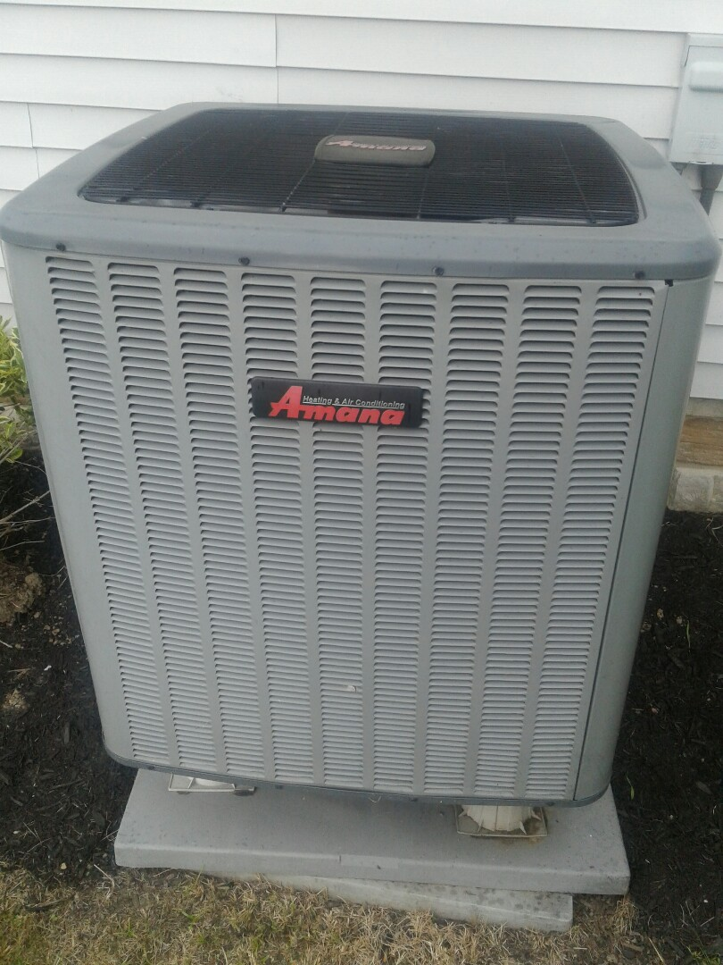 Working on amana heat pump in East Canton ohio