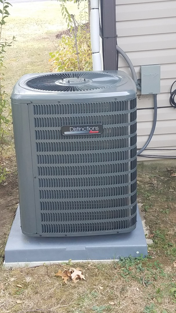 Working on a rheem gas furnace in maple hits ohio. Had to repair the blower motor. System heating and cooling properly.