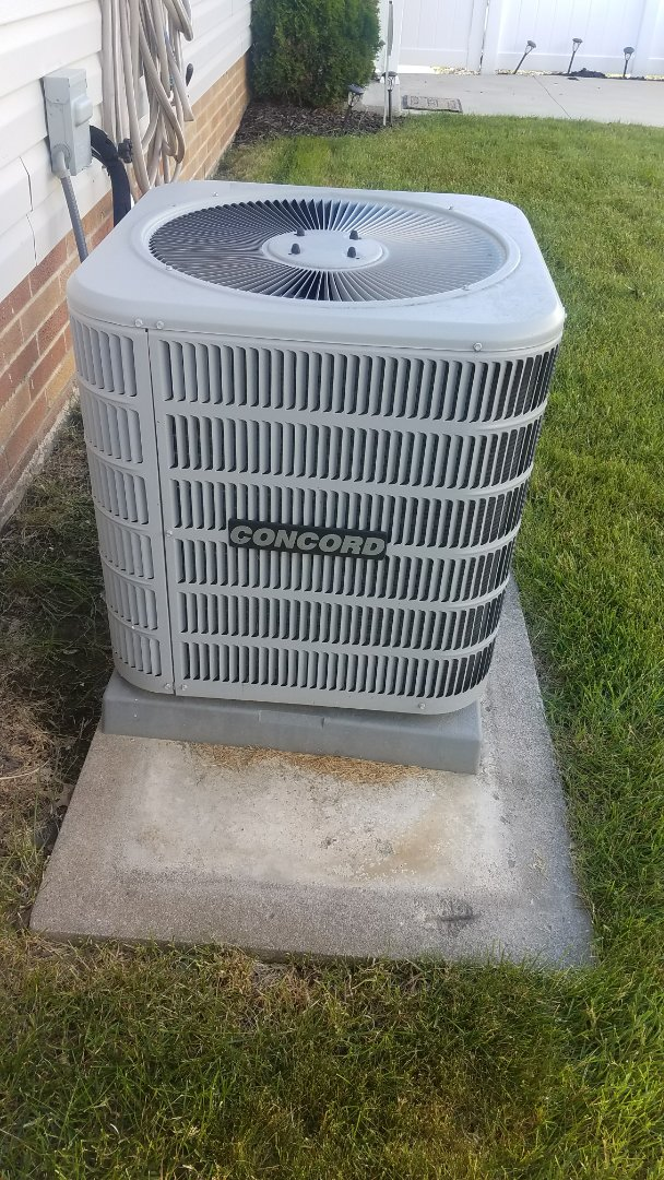 Euclid, OH - No cooling on a concord air conditioner near Euclid ohio 44123