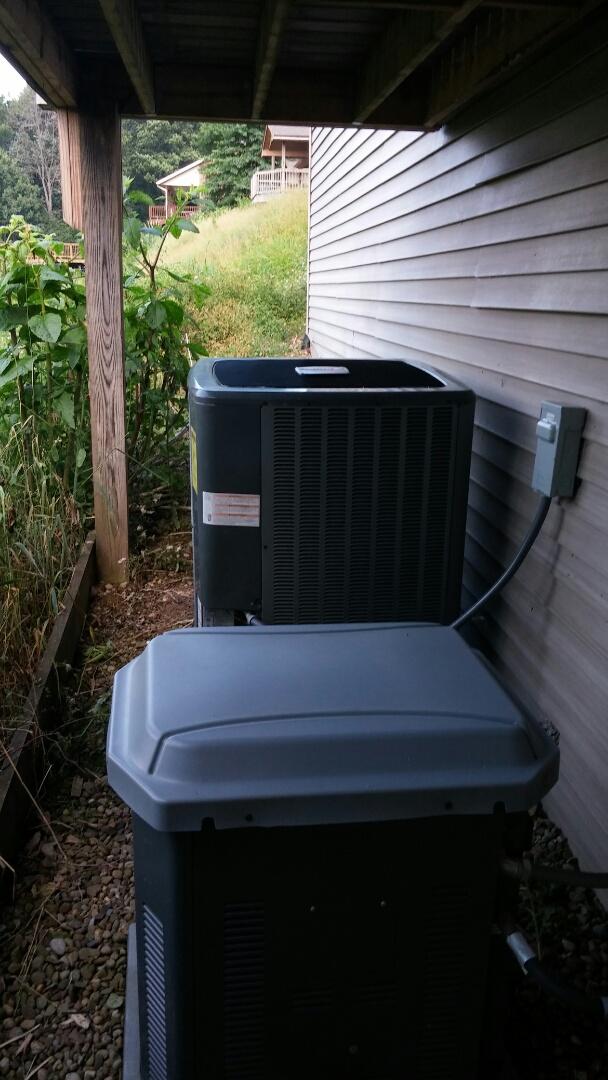 Malvern, OH - Amana heat pump not cooling