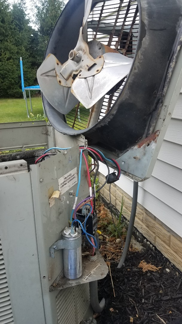 Repaired a air conditioning system in chagrin falls ohio