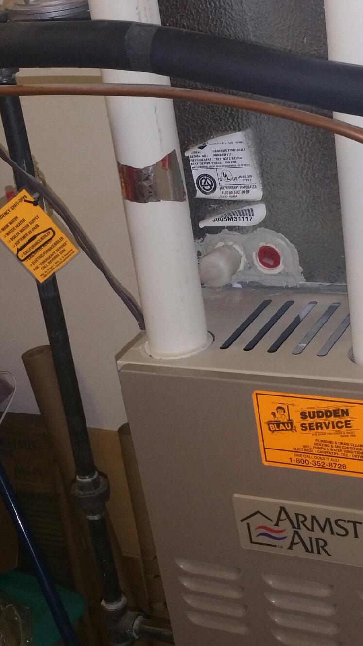 Furnace Ac Amp Plumbing Repair In Grafton Wi