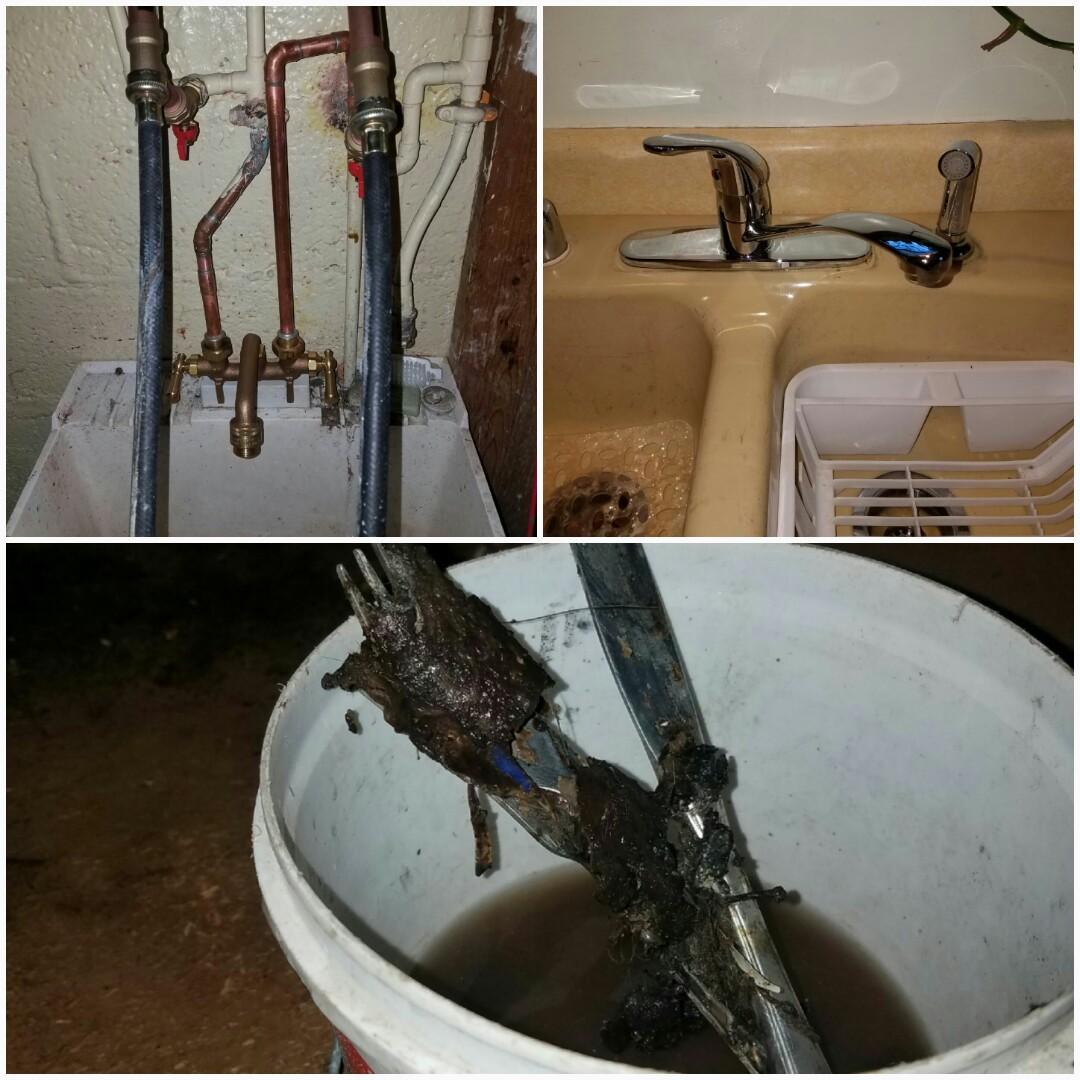 Furnace AC  Plumbing Repair In Greendale WI - Kitchen sink snake