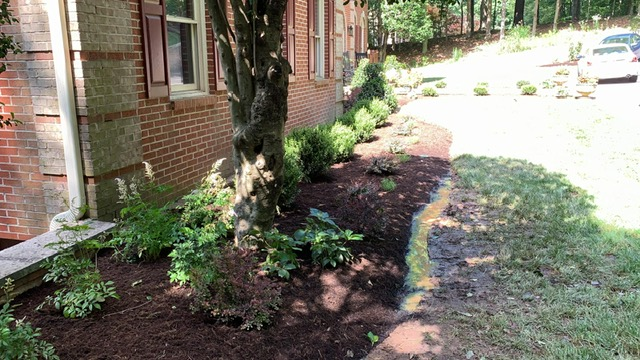 Working on a landscape design project for a great family in Burke, VA. Can't wait to give them the hardscape they've always wanted with a  patio and stone walkway.