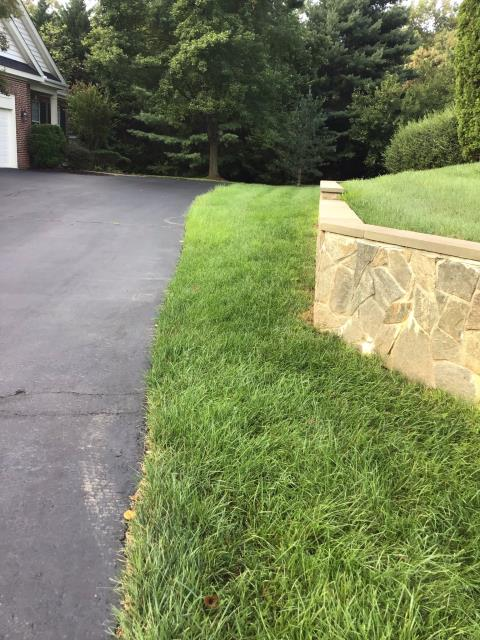 Working on triming bushes and beautifying the lawn for a great family in Fairfax Station! They going to love the results they get for their landscape design from our lawn care, plant healthcare and landscape clean up.