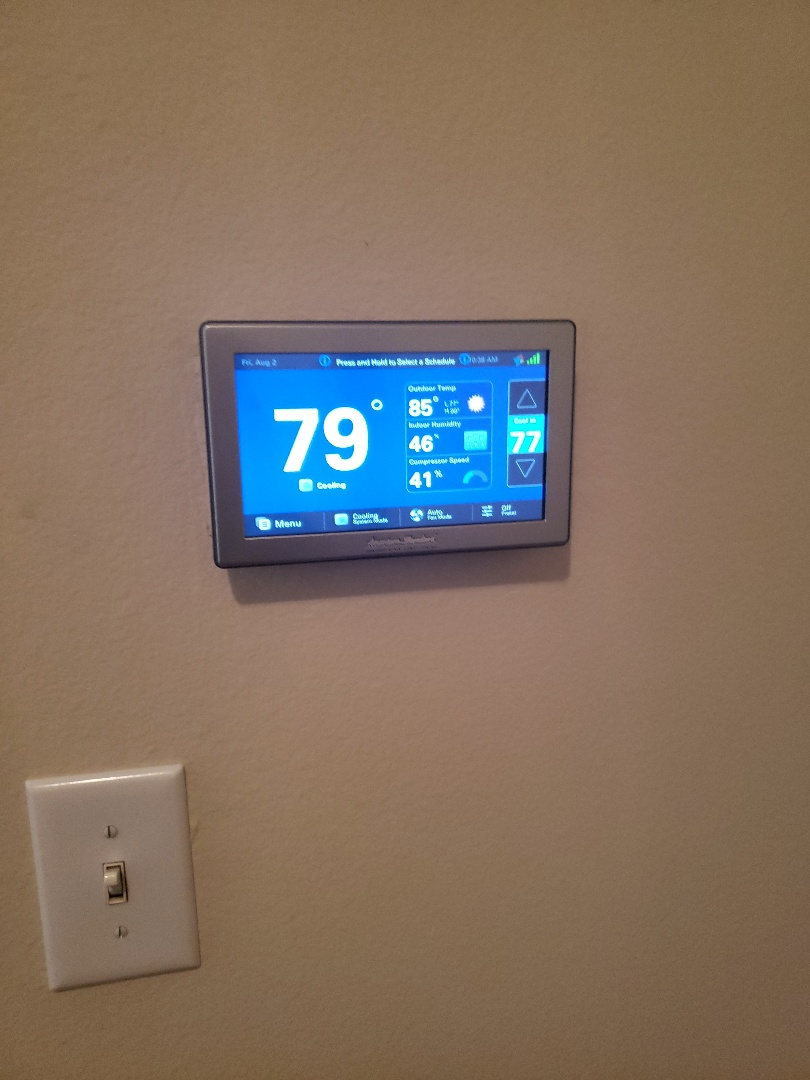 Georgetown, TX - Bad thermostat on a American standard