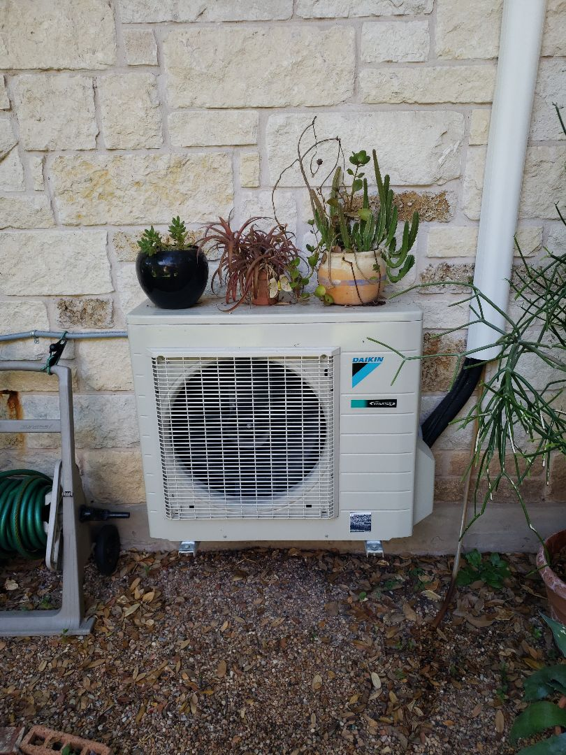 Buda, TX - Daikin mini split leaking water and needs servicing