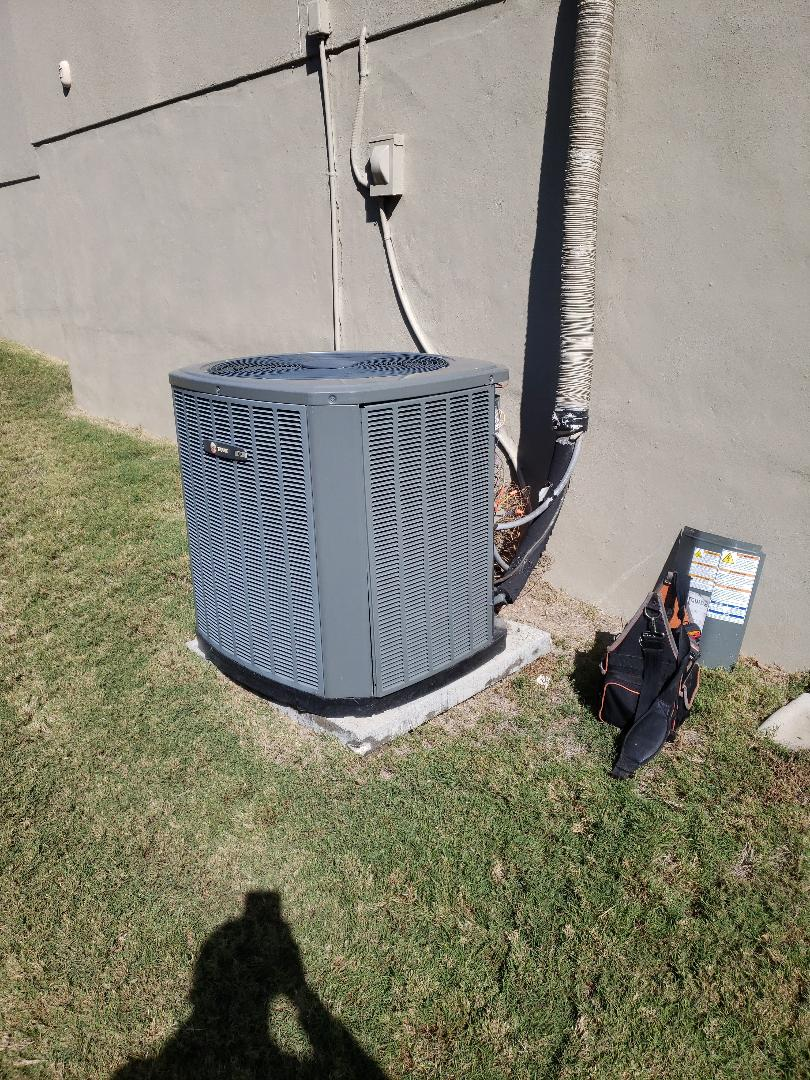 Driftwood, TX - Ac zone board on a heatpump by trane with a heater check for winter