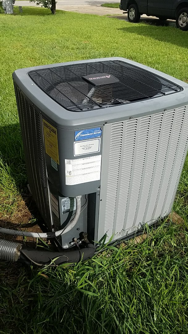 Buda, TX - AC repair on a amount of system that needed a capacitor and compressor starter kit