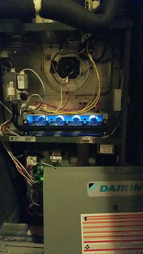 Austin, TX - Daikin furnace not coming on due to a dirty filter