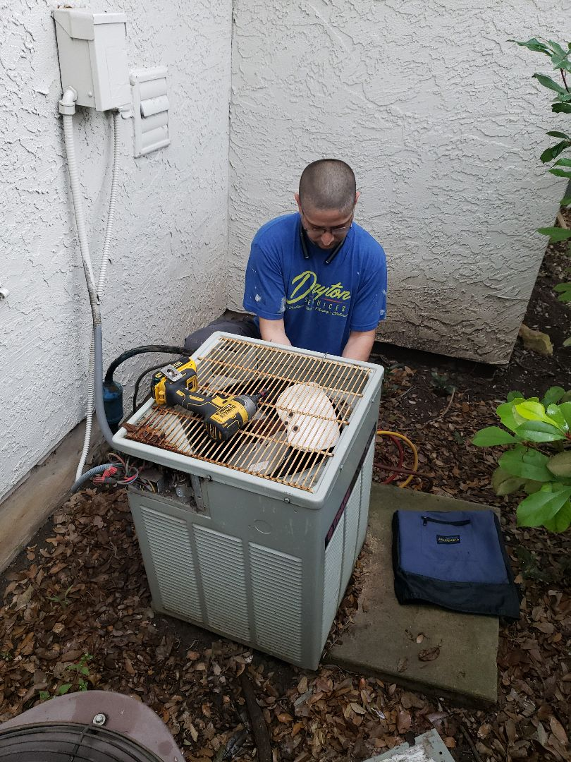 San Antonio, TX - New air conditioning system installation.
