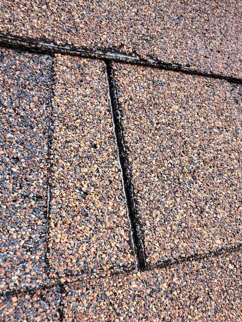 Alexandria, VA - AST Roofing was contacted because the homeowner had seen several leaks in different rooms of the residence.  After inspection we discovered incorrect installation of shingles.  We replaced roof with architectural shingles, and replaced 8 plywoods in the process.