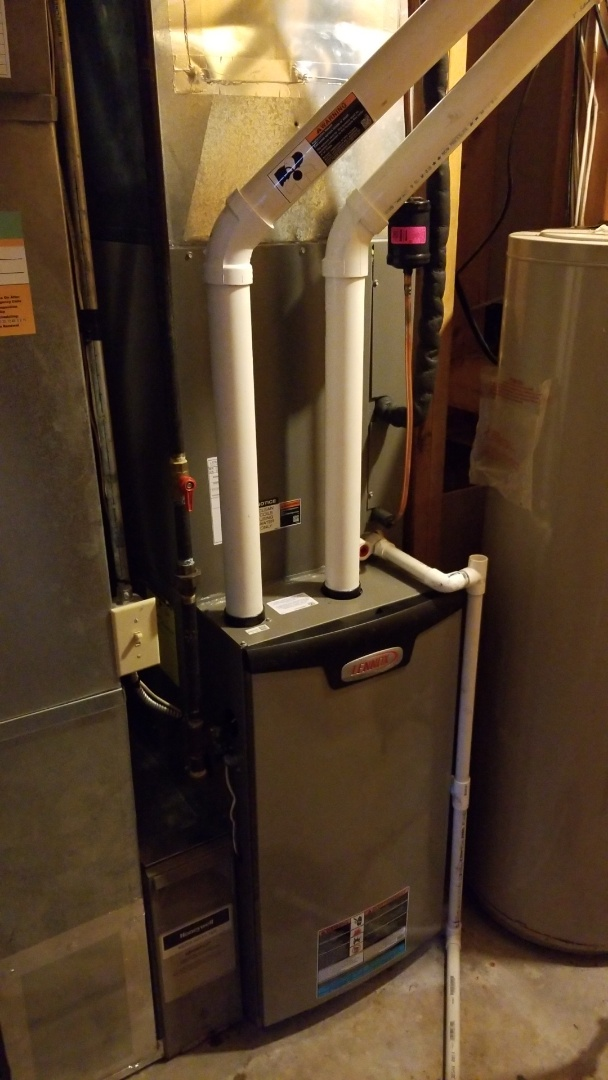 Madrid, IA - Installed a new furnace and ac system
