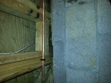 Groveport, OH - Frozen pipes water leak pipe burst plumbing