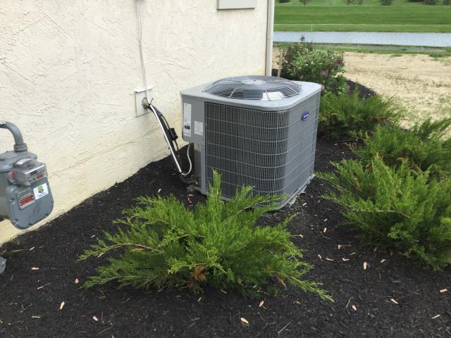 Powell, OH - Replaced Batteries On T-Stat, Carrier AC Unit Running Efficiently For Summer