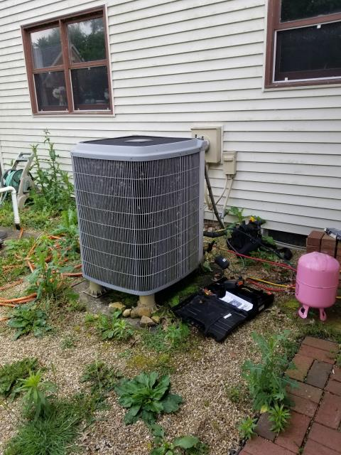 Johnstown, OH - Added Puron & Applied Easy Seal To Carrier AC Unit to help keep system running at Peak Performance.