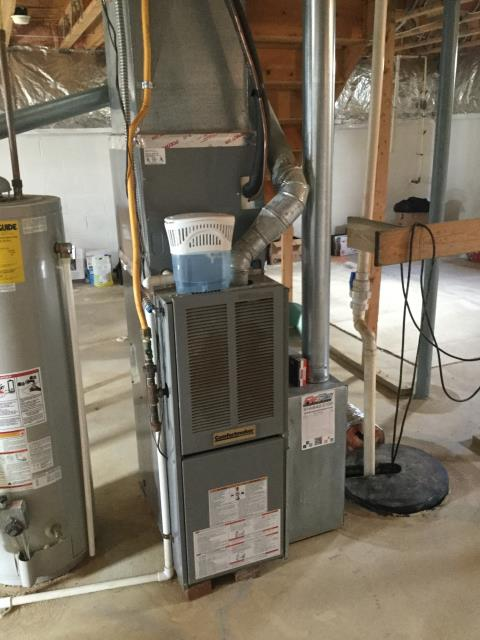 Delaware, OH - Furnace & A/C Tune-up and Safety Checkout on Comfortmaker Unit. Unit is working properly upon departure.