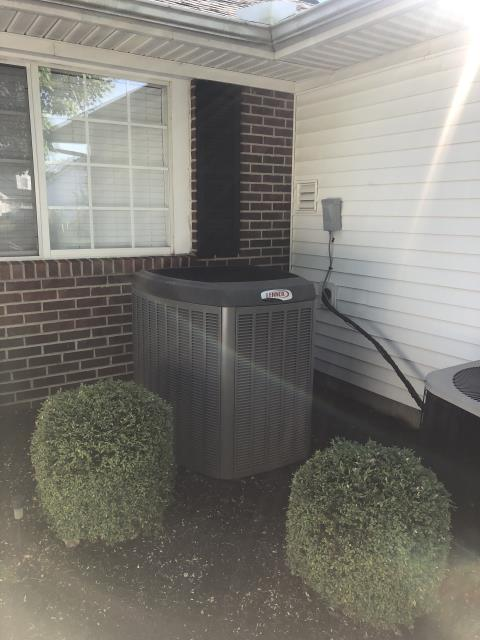 Groveport, OH - Diagnostic Performed Removed Restriction Due To Filter On Lennox AC System To Keep AC Running Efficiently  For The Summer Season
