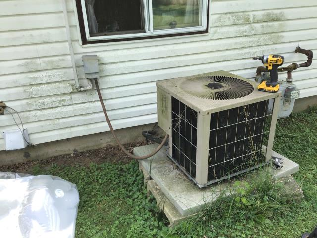 Worthington, OH - Provided Estimate New Carrier Gas Furnace 96% Two-Stage 80,000 BTU & New Carrier 16 SEER 4 Ton Air Conditioner To Replace Existing Amana AC & Furnace