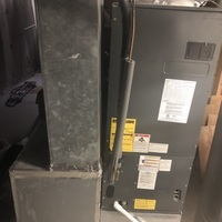"""Westerville, OH - Confirmed Goodman HVAC System has a faulty sequencer. Options given to replace sequencer or system due to age and future repair bills. Customer opted to go with new system. New Carrier """"Infinity Series"""" Electric Fan and Heat Pump being installed with a one year maintenance agreement."""