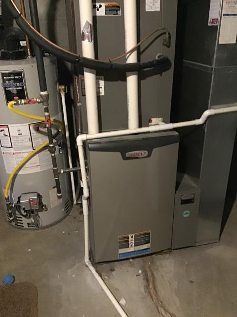 Worthington, OH - Furnace tune - up and safety check performed on a Lennox system. Confirmed that the system is working within manufacturer specifications.