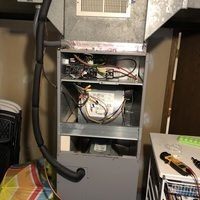 Dublin, OH - 24 Hour heating and cooling repair services performed on an Aireflow furnace.