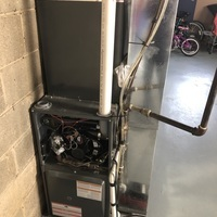 Whitehall, OH - Flame sensor reading found low again on a Goodman furnace. Advised to replace the sensor as it was cleaned prior and still having heating issues.